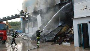 Tokat Organize Sanayi Bölgesi'nde yangın