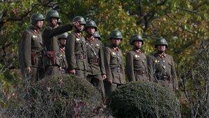Güney Kore-Kuzey Kore sınırında silah sesleri!