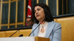 HDP Eş Genel Başkanı Serpil Kemalbay ilk kez kürsüde