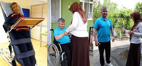Beyin anevrizması geçiren Volkan Gültekin yeniden ayaklanıp, konuşmaya başladı!