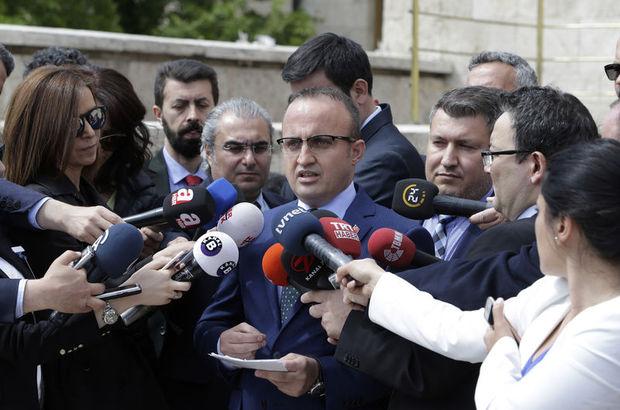 AK Partili Turan: AK Parti grubunun başkanı olarak Binali Bey'i öneriyoruz