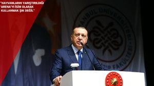 Erdoğan'dan belediyelere çağrı: Bütün bu tabelaları sökün, bu senin hakkın