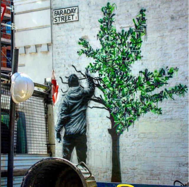 En Güzel Duvar Resimleri Nerelerde Banksy Son çalışmaları Neler