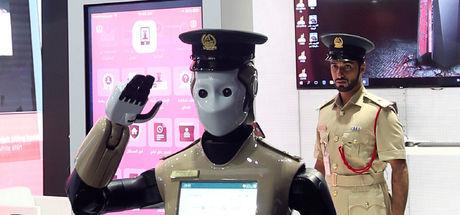 Dubai robot polis kotası koydu