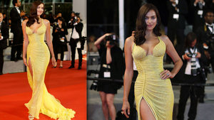 Cannes Film Festivali'ne Irina Shayk damgası