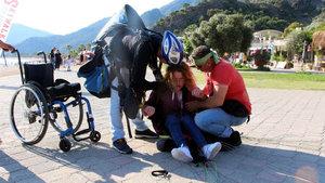 İngiliz turist Rosa Spencer Babadağ'dan uçtu!