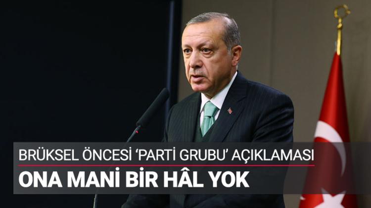 Erdoğan, TOBB'dan söz aldı
