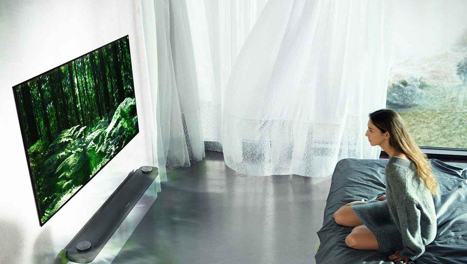 Duvarda resim gibi duran televizyon Türkiye'de