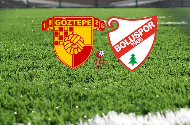 Göztepe - Boluspor maçı hangi kanalda, saat kaçta?