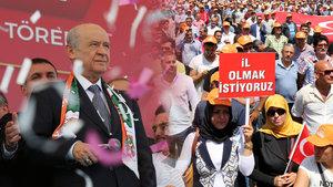 Bahçeli'den Erdoğan'a: Alanya'yı il yapmasını bizler de istiyoruz