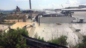 Adana'da fabrikanın boya kazanında patlama