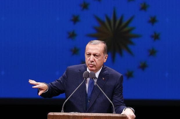 Erdoğan: Şırnak Cizre'ye, Hakkari de Yüksekova'ya dönüşecek
