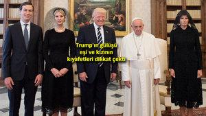 Donald Trump ile Papa Franciscus Vatikan'da buluştu