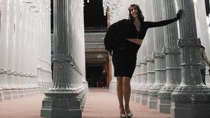 Hande Yener, Hollywood'da klip çekti