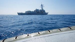 Asya'da gerilim! Çin ve ABD savaş gemileri karşı karşıya!