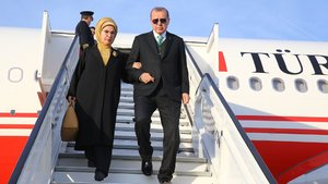 Erdoğan'a Brüksel'de sürpriz karşılama!
