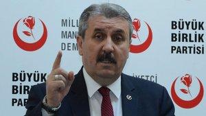 BBP lideri Mustafa Destici'den dikkat çeken 'bedelli' önerisi
