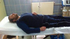 Onur Akay hastaneye kaldırıldı