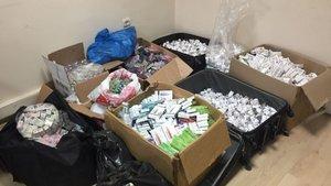 Bursa'da öldüren ilaçlara operasyon