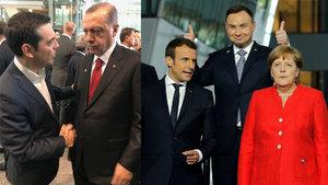 NATO Zirvesi'nden dikkat çeken kareler!