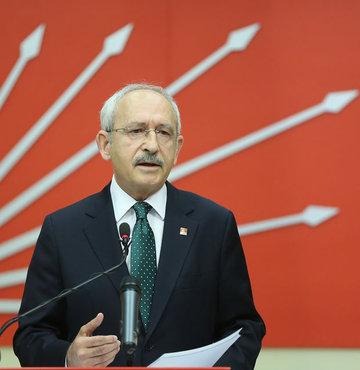 CHP Genel Başkanı Kemal Kılıçdaroğlu, MYK