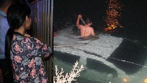 Adana'da bir kişi kız arkadaşının aracını sulama kanalına attı