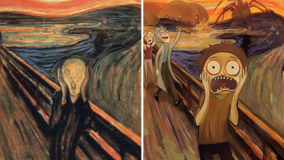 Klasik sanat animeye dönüştü