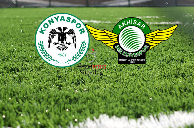 Konyaspor'un konuğu Akhisar Belediyespor