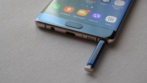 Samsung Galaxy Note 8'in ekranı sızdı
