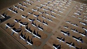 ABD'deki uçak mezarlığından 22 çarpıcı fotoğraf