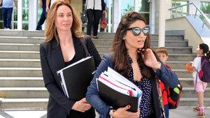 Demet Şener, fotoğrafını çeken bir avukatla tartıştı
