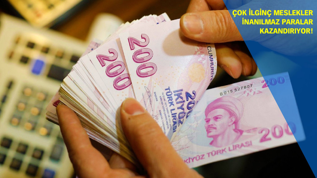 Türkiye'de en çok kazandıran meslekler açıklandı