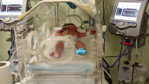 Ailenin sorumlu tuttuğu hastane: Bebeği iyileştiririz