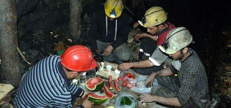 Zonguldak'ta yerin metrelerce altında ilk sahur