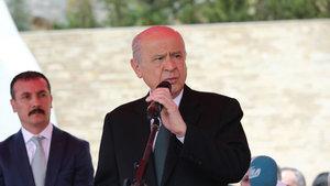 Bahçeli 'Ülkücü Şehitleri Anma Günü'nde konuştu