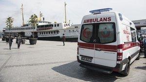 İstanbul Boğazı'nda tur teknesinde intihar girişimi