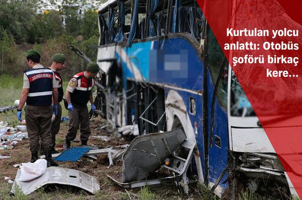 Ölüm uykusu: Otobüs faciasında 8 kişi öldü, 34 kişi yaralandı!