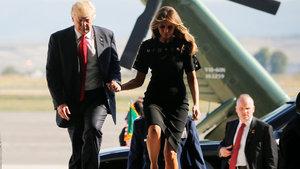 Melania Trump kocasını cezalandırıyor