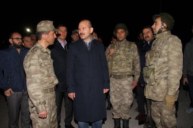 Bakan Soylu, Tendürek'te askerlerle sahur yaptı