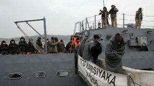 Ege Denizi'nde bir haftada 423 kaçak göçmen yakalandı