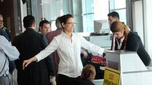 ABD yolcuları 10 kez kontrolden geçiyor