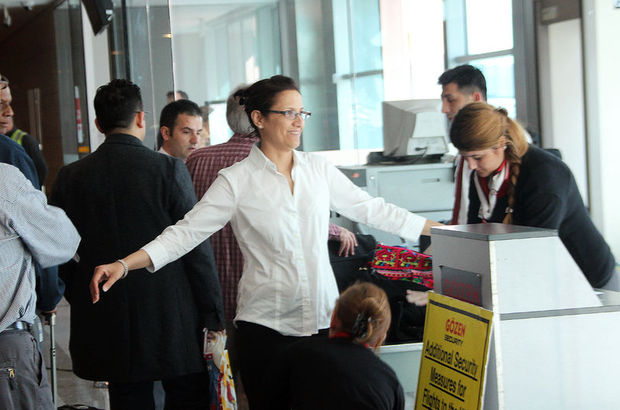ABD yolcularına rekor kontrol
