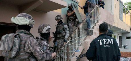 233 yabancı savaşçıya operasyon