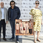 İtalyan giyim markası Loro Piana, yeni koleksiyonunu İstinye Park mağazasında görücüye çıkardı.