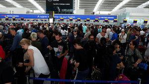 British Airways'te sorun devam ediyor
