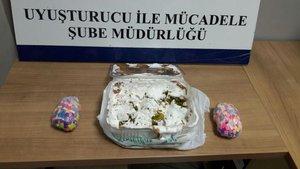 Eskişehir'de tatlı arasında uyuşturucu sevkiyatı