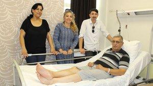 İzmir'de yaşayan Ferudun Gönül komşusunun yaptığı kalp masajıyla hayata döndü!