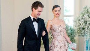 Evan Spiegel ve Miranda Kerr evlendi