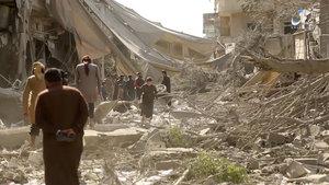 Rakka'da 48 saatte 70 sivil öldü!