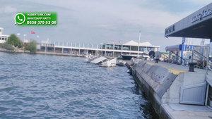 Bakırköy İskelesi önünde tekne battı